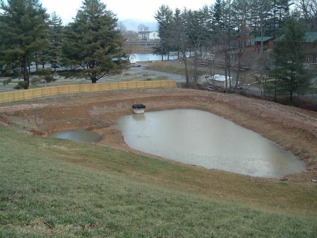 Environmental management for Pond drain design